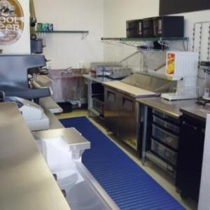 Anti Fatigue Mat in a commercial kitchen