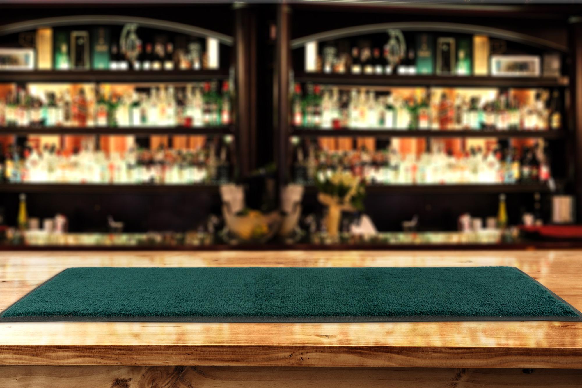 Bar Mat Action