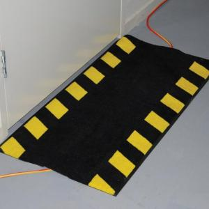 Cable Safe Mat on the floor